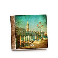 Шкатулка-книга на магните с 9 отделениями Венецианская пристань, фото 1