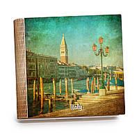 Шкатулка-книга на магните с 9 отделениями XL Венецианская пристань, фото 1