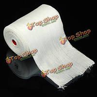 10X300см сопротивление изоляции тепла стеклоткань сетка лента полотняного переплетения ремень