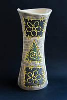 Ваза Румба большая заплатки с цветами.