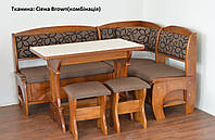 Кухонный уголок Софи 2(дерево) Летро, фото 1