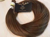 Натуральные Волосы 60 см Русый Для наращивания