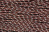 Шнур 5мм с наполнителем (100м) коричневый + св. беж
