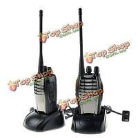 2шт Baofeng BF-а5 5w 16-канальный Walkie Talkie UHF 400-470МГц FM ветчиной двусторонней радиосвязи