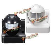 12m 180° освещения безопасности PIR движение инфракрасный детектор движения датчик переключения открытый дом