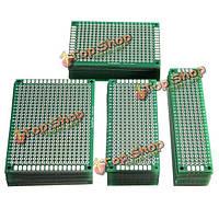 40шт FR4 двусторонняя Прототип PCB Печатная плата