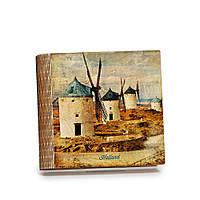Шкатулка-книга на магните с 9 отделениями Ветряные мельницы, фото 1
