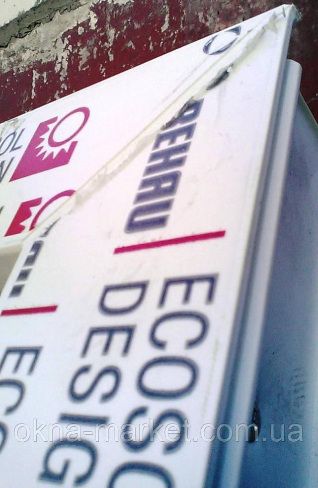 Одночастные окна в профиле Rehau Ecosol - фирма