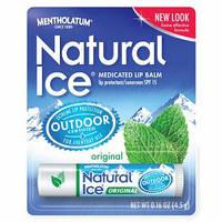 Бальзам для губ Natural Ice Medicated Lip Protectant/Sunscreen SPF 15