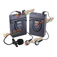 Боя с WM5 - про беспроводной петличным клип -на микрофонный системы аудио студия рекордер микрофона для CANON SONY
