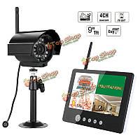 Эннио sy903e11 9inch ЖК-монитор DVR комплект беспроводной системы домашней безопасности, видеонаблюдения с цифровой камерой