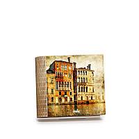 Шкатулка-книга на магните с 4 отделениями Традиционные венецианские дома