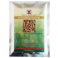 Фенугрек порошок, пажитник сенной, Fenugreek powder, 100 гр