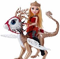 Кукла Ever After High Эппл Уайт (Apple White) из серии Dragon Games Школа Долго и Счастливо   Mattel