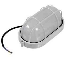 Светодиодный светильник для ЖКХ антивандальный BL1402L 10W овал.накладной IP54 Код.58749