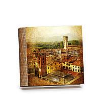 Шкатулка-книга на магните с 9 отделениями Итальянский городок , фото 1