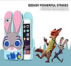 Чехол силиконовый Zootopia Rabbit Judy City 3D Cartoon для iPhone 5/5s, фото 2