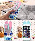 Чехол силиконовый Zootopia Rabbit Judy City 3D Cartoon для iPhone 5/5s, фото 5