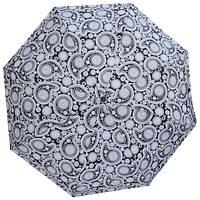 Зонт черно-белый с узорами 3013BW-10