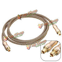 1.5m 5 футов Premium toslink волоконно оптический цифровой аудио оптический кабель s/pdif кабель провод