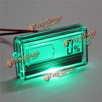 Емкость батареи тестер с жидкокристаллическим индикатором для 12V 24V 30V свинца лития кислоты липосакции