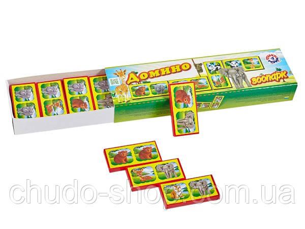 Детское Домино  Зоопарк ТехноК (3305)