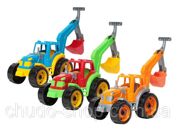 Трактор с ковшом ТехноК (3435)