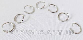Кольцо  для  бус  10*10 мм  никель