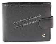 Вместительный мужской кошелек с натуральной кожи SALFEITE art. 2124 черный