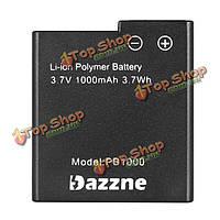 Dazzne P2 P3 спорта камера аккумулятор 1000мАh 3.7V батареи