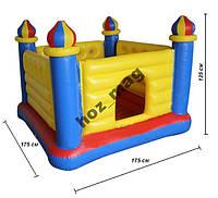Батут Замок 175х175х135 см Intex 48259
