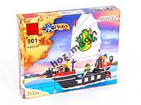 Конструктор Пираты Барбара 211 дет Brick 301