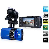 Автомобильный видеорегистратор 550, автовключение, датчик удара, 30 кадров/с