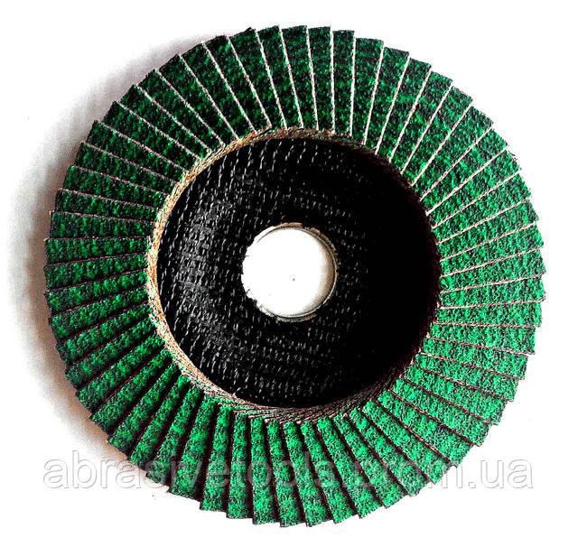 Круг лепестково торцевой 125x22 Z60 PROFI GRЕЕNLINE, фото 2