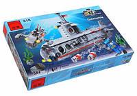 Конструктор Подводная лодка 382 дет Brick 816