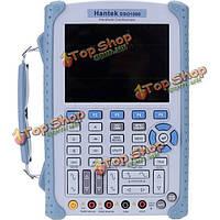Hantek dso1060 портативный цифровой запоминающий осциллограф 60МГц 250 msa/s высокой точности dмм