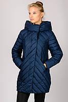 Стеганная удлиненная женская зимняя куртка Snow Classic