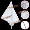33-дюймовая студия фотографии высвечивает распылитель прозрачный мягкий светло-белый зонтик