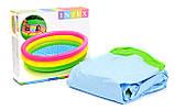 Детский надувной бассейн Intex (57412) 114x114x25 см уценка, фото 3