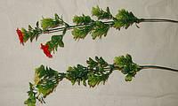 01-40  Цветы искусственные Ветка ромашка