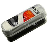 Губка для блеска обуви Silver standart (чёрная)