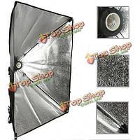 50x70см softbox с e27 держатель лампы с мягкой тканью для фото-студии