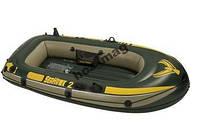 Надувная двухместная лодка Intex 68346 Seahawk 2