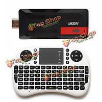 Mk809v 1Гб 8Гб XBMC четырехъядерный ТВ ключ с УКБ-500 клавиатуры воздуха мыши
