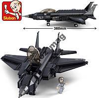 Конструктор Истребитель F-35 Sluban B0510 252 дет