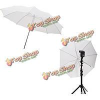 40in 103см фотостудия аксессуары студия флэш прозрачный белый мягкий зонтик
