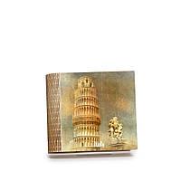 Шкатулка-книга на магните с 4 отделениями Пизанская башня