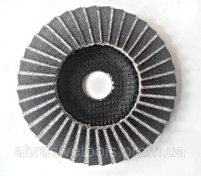 Круг лепестково торцевой по алюминию 125х22 Z40, фото 2
