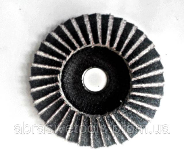 Круг лепестково торцевой по алюминию 125х22 Z60/А60, фото 2