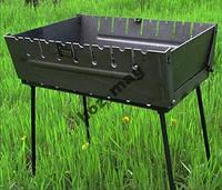 Мангал чемодан на 8 шампуров, складной, 2 уровня